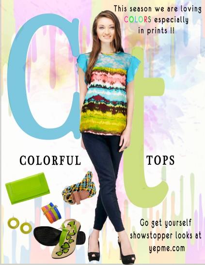Holi- Colorful Tops