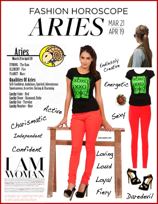 What's your horoscope_- Aries