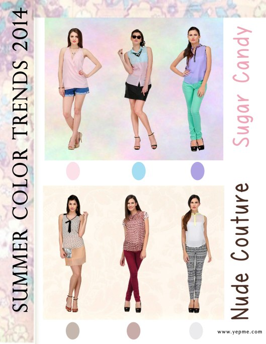 Color Trend Summer 2014